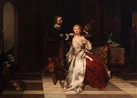 the temptation by casimir van den daele