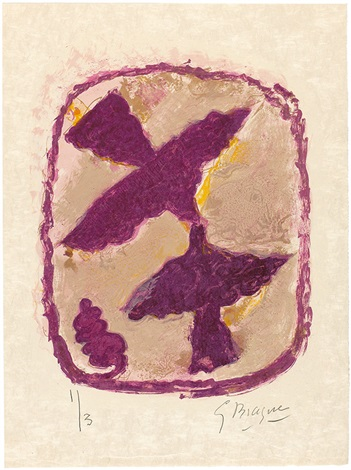lettera amorosa (portfolio of 22) by georges braque