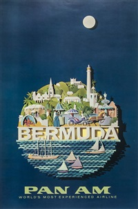 bermuda, pan am by raymond ameijide