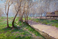 frühlingslaune by vassilij filippovich levi