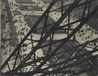 tour eiffel, paris by ilse bing