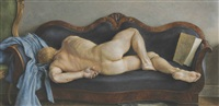 sleeping nude by paul cadmus