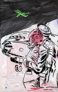 stewardess by georgy ostretsov
