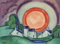 surprise (may moon) by oscar florianus bluemner