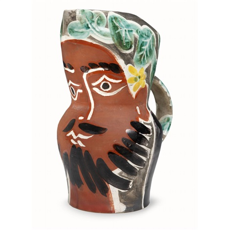 bearded man by pablo picasso