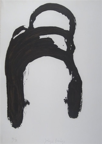 ohne titel pl 5 from spur ii by joseph beuys