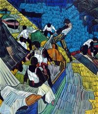barche in secca by marcello piacentini