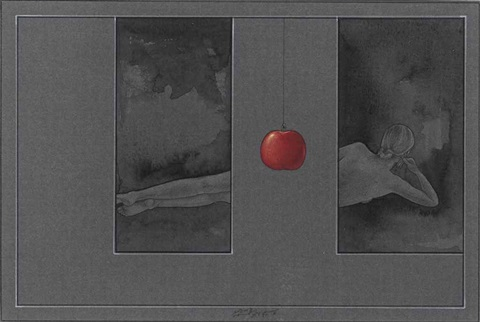 untitled (apple) by waseem ahmed