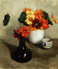 still life of flowers by elise claudine arntzenius