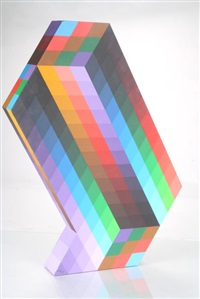 torony ii by victor vasarely