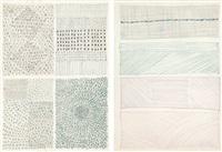 untitled (2 works) by kim whan-ki