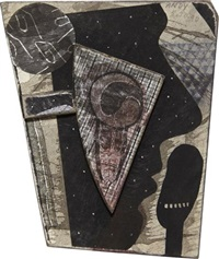dotted andy with snail by ray johnson
