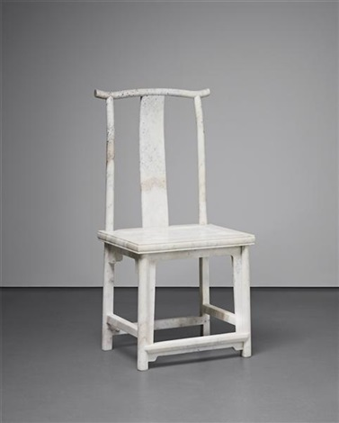 marble chair no 14 by ai weiwei