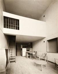 intérieur d'un appartement de la cité radieuse, marseille by louis sciarli
