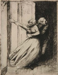 le viol by albert besnard