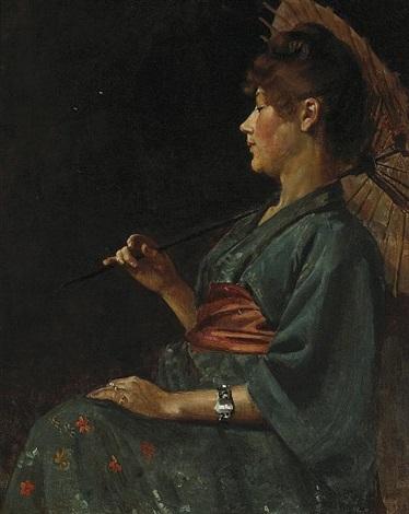 the blue kimono by philip leslie hale