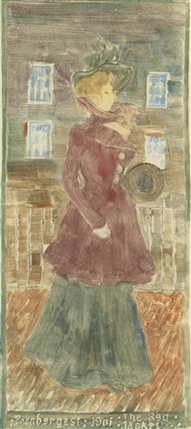 the red jacket by maurice brazil prendergast