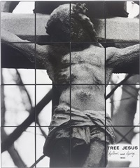 tree jesus (16 works) by gilbert and george