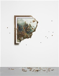 bierstadt with holes by valerie hegarty