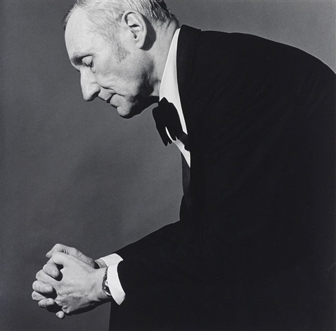 william burroughs by robert mapplethorpe