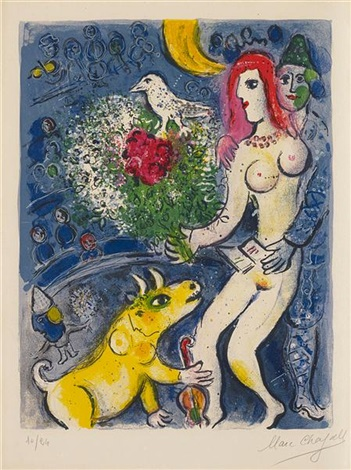 le cirque (from cirque) by marc chagall