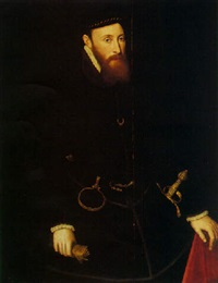 portrait of john, 6th baron lumley by steven van der meulen
