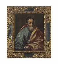 saint peter by el greco