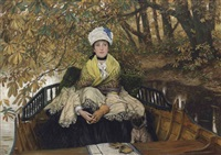 waiting (also known as in the shallows) by james jacques joseph tissot