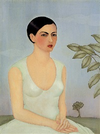 portrait of cristina, my sister by frida kahlo