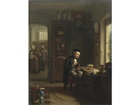 the clock maker by theodore bernard de heuvel
