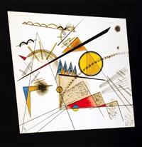 abstraktní kompozice by wassily kandinsky