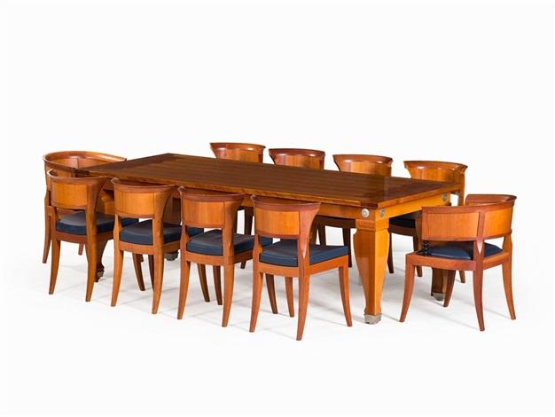 Dining Table With 10 Chairs Von Leon Krier Auf Artnet