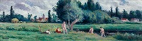 bessy environs by maximilien luce