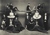 ballet, theatre by irving penn