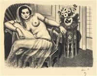 hindoue à la jupe de tulle by henri matisse