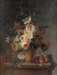 bouquet de fleurs by cornelis van spaendonck