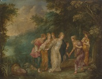 the finding of moses by hendrick van balen the elder and jan brueghel the younger