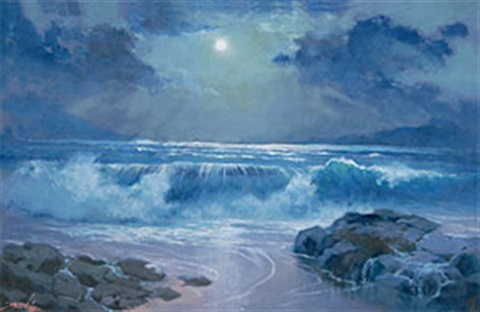 moon light sonata by raden basoeki abdullah