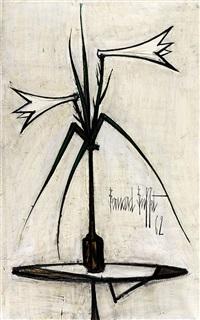 lys (lilies) by bernard buffet