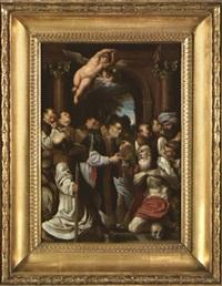 la dernière communion de saint jérôme by lucio massari