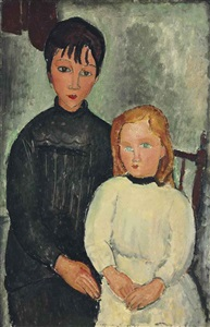 artwork by amedeo modigliani