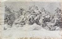 nozze di amore e psiche (+ il medesimo soggetto, verso) by laurent pécheux