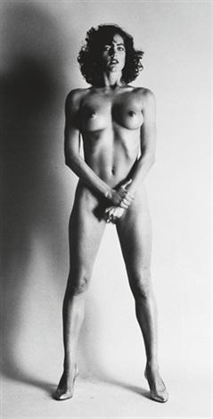 big nude iii henrietta by helmut newton