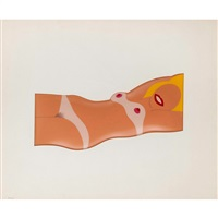 cut out nude (from 11 pop artists i) by tom wesselmann