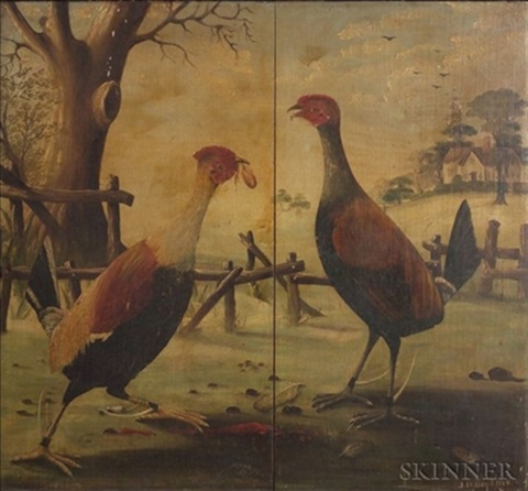cock fight by anglo american school 19