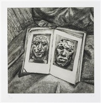 the egyptian book by lucian freud