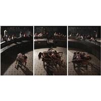 triptych (in 3 parts) by nazif togcuoglu