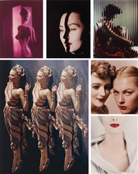 color (10 works) by erwin blumenfeld