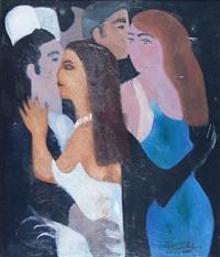 parejas bailando (pair) by héctor basaldúa