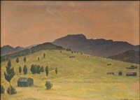 ilta-aurinkoa espanjan vuoristossa by väinö kamppuri
